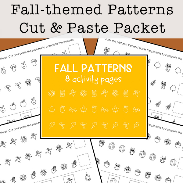 Fall Math Patterns Packet