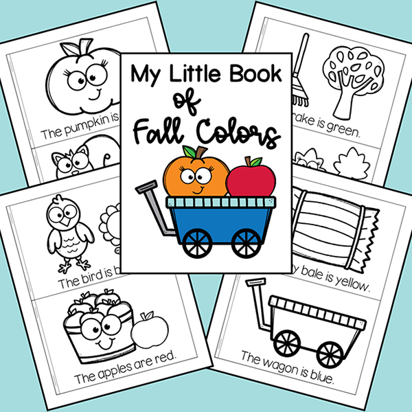 My Fall Colors Mini Book