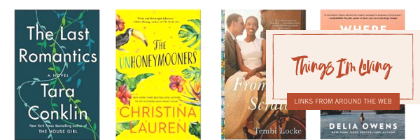The books I'm loving right now