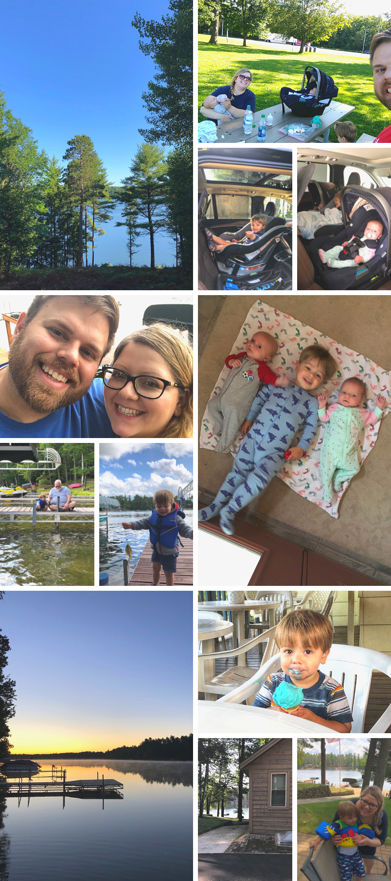 Family road trip to Northern Wisconsin