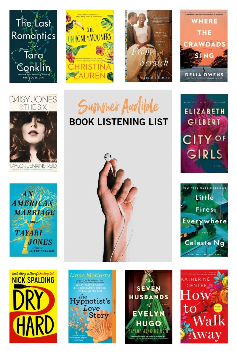 Audio book list recommendations