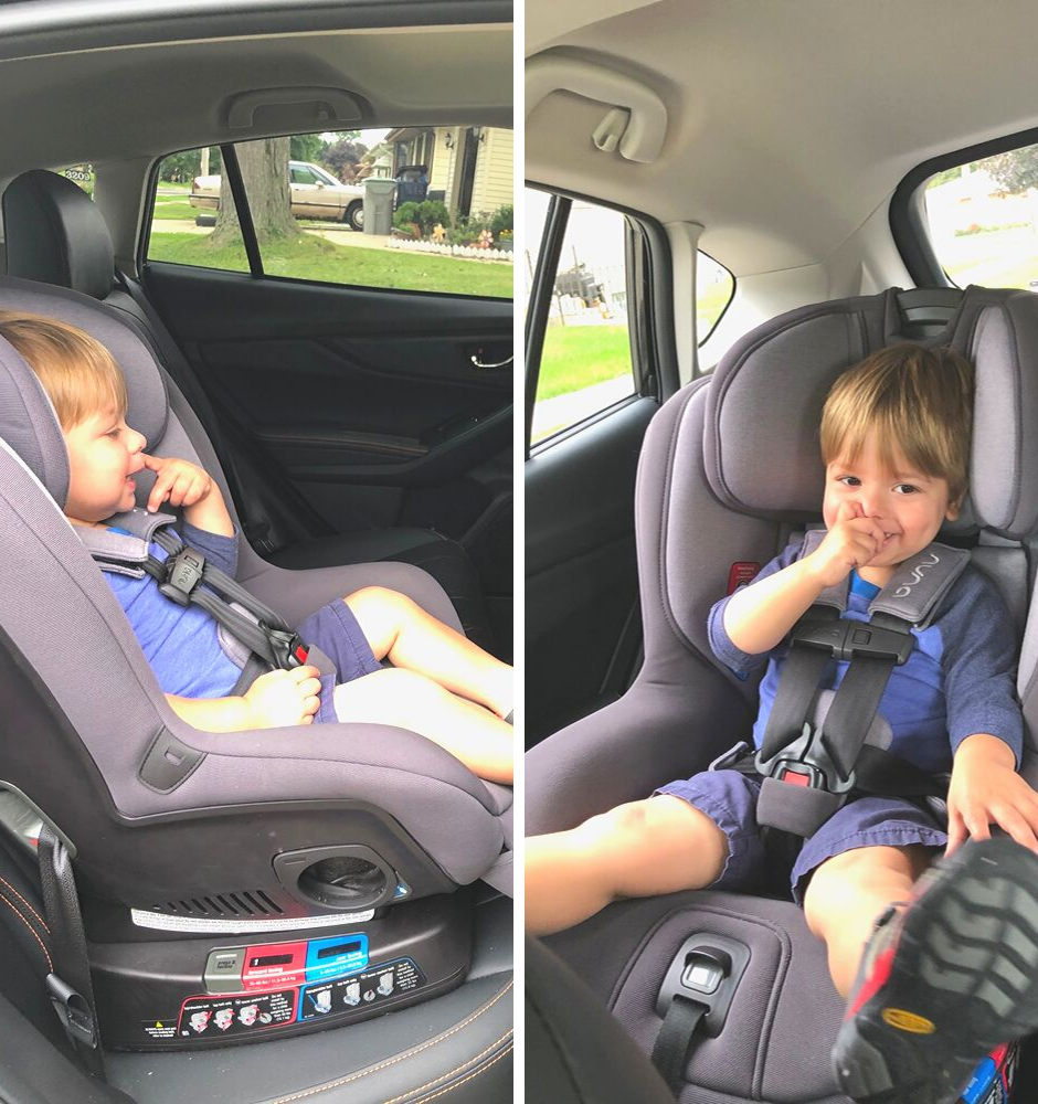 Getting a toddler in the car